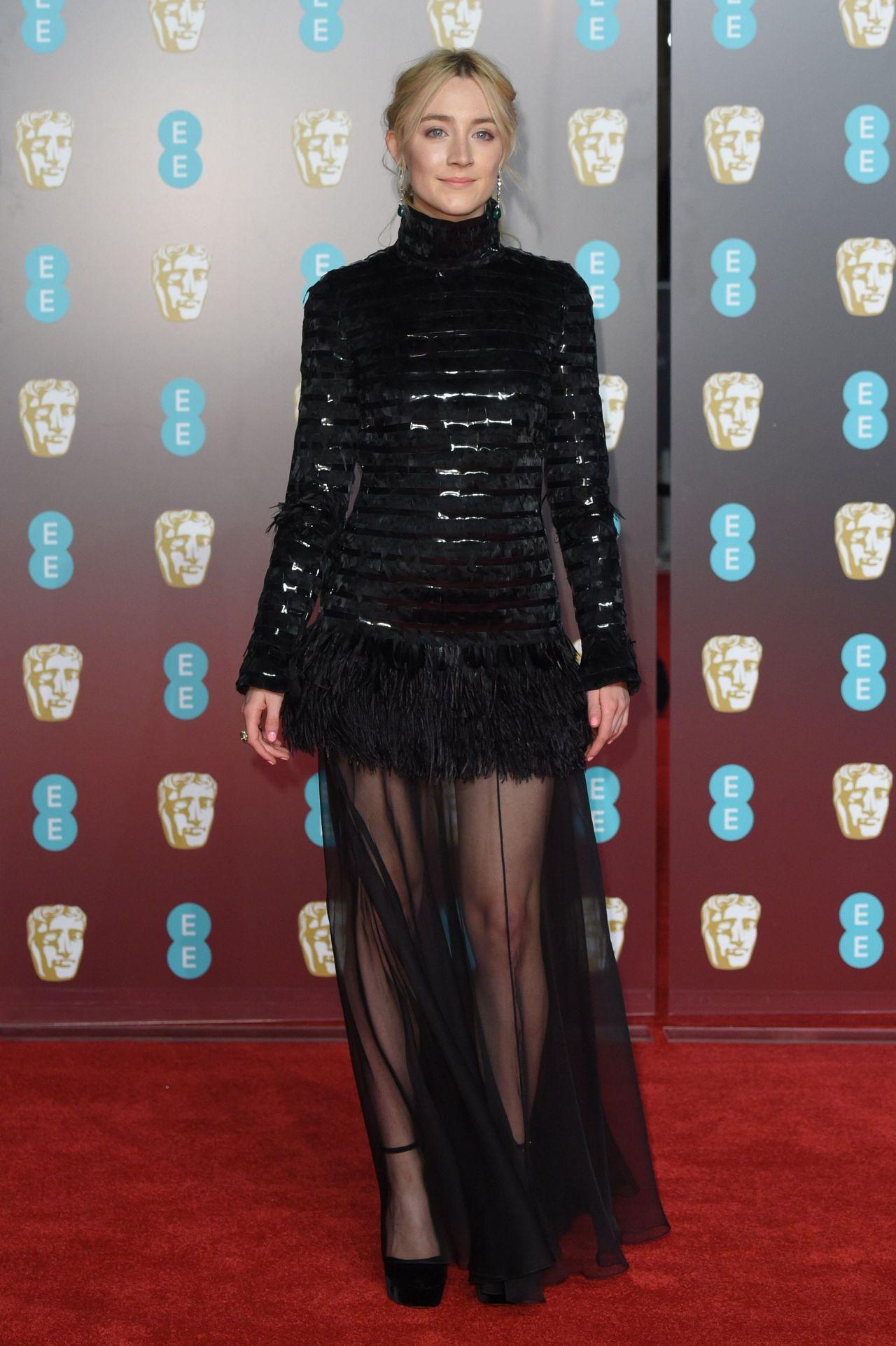Saoirse Ronan 2018 British Academy Film Awards