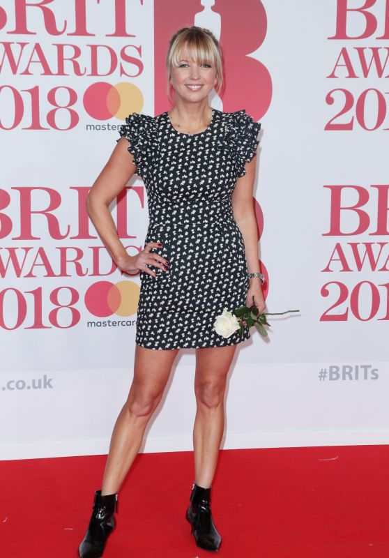 Sara Cox – 2018 Brit Awards in London
