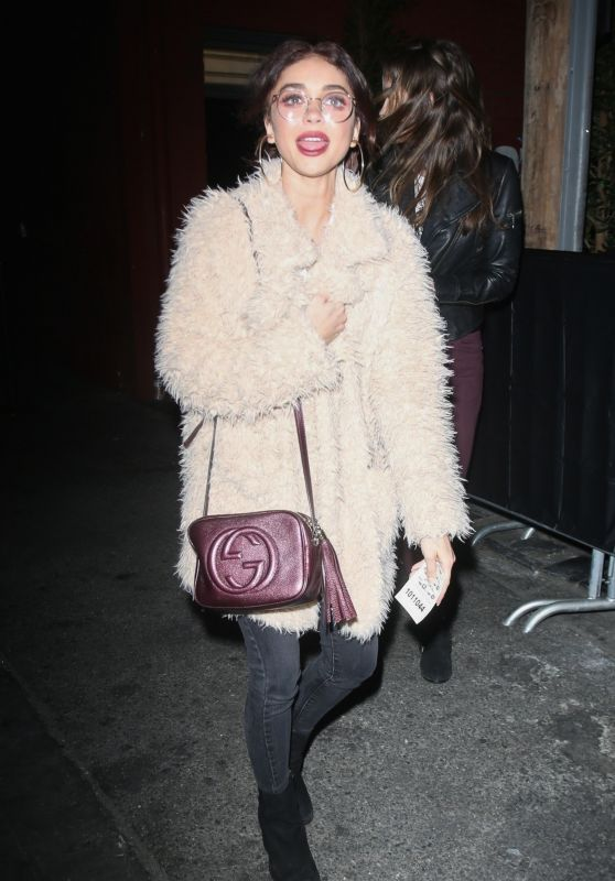 Sarah Hyland - Leaving the Hotel Cafe in Los Angeles