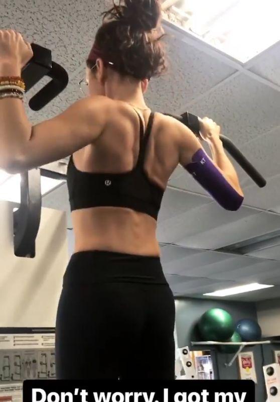 Sarah Hyland Workout 02/07/2018