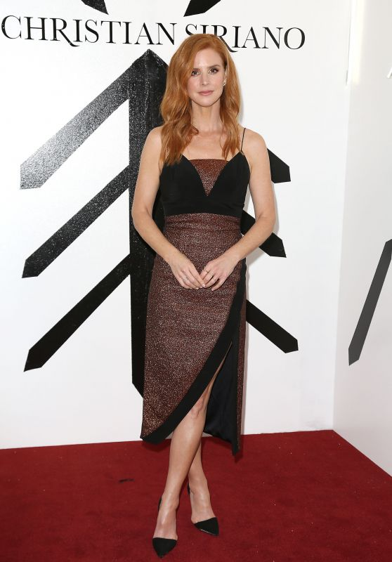 Sarah Rafferty – Christian Siriano Show FW18 at NYFW
