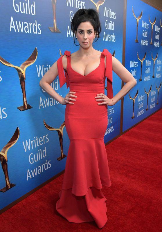 Sarah Silverman – Writers Guild Awards 2018 Red Carpet