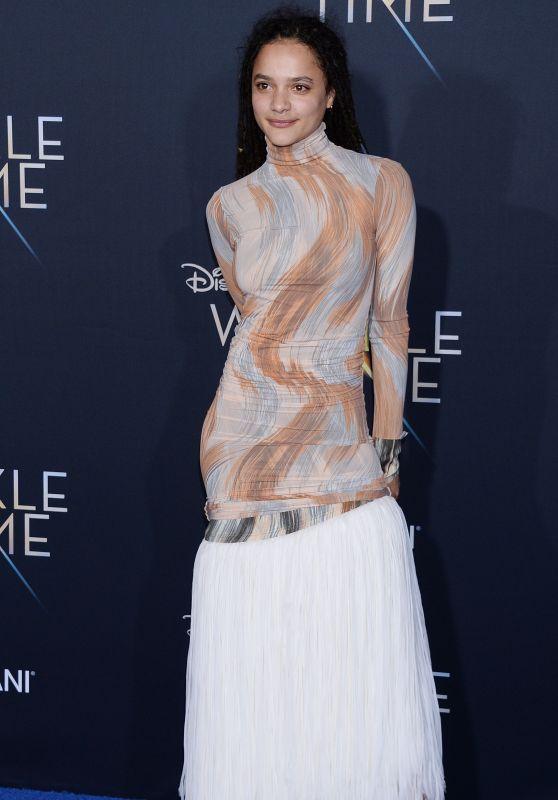 "Sasha Lane – ""A Wrinkle in Time"" Premiere in Los Angeles"