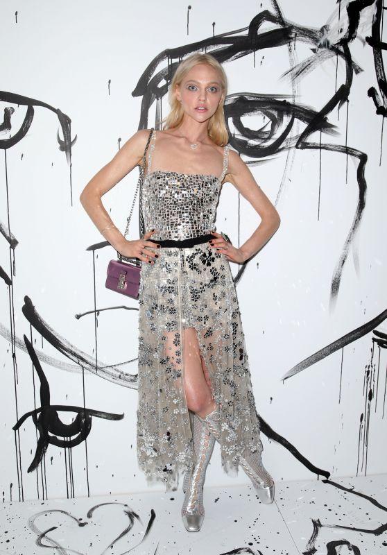 Sasha Pivovarova – Dior Collection Launch Party Spring Summer 2018 at NYFW