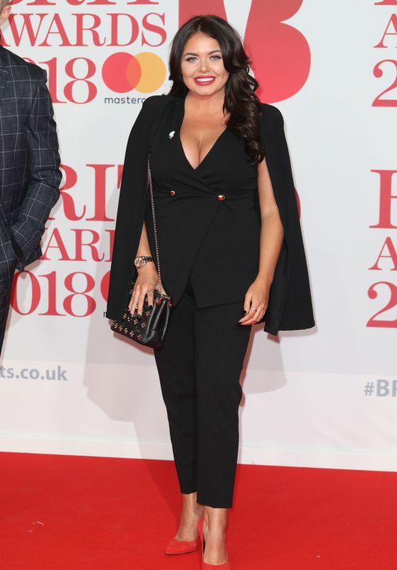 Scarlett Moffatt – 2018 Brit Awards in London