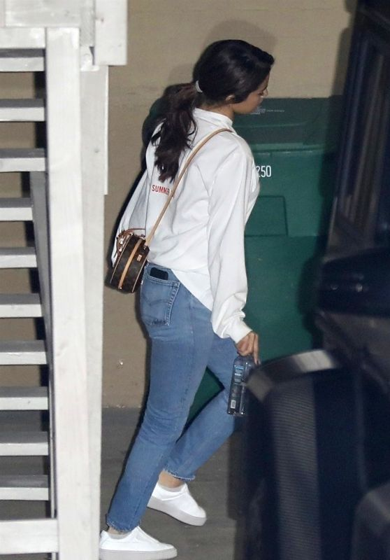 Selena Gomez and Justin Bieber Candids - Beverly Hills 01/31/2018