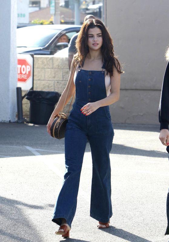Selena Gomez at Casa Vega Mexican Restaurant in Los Angeles