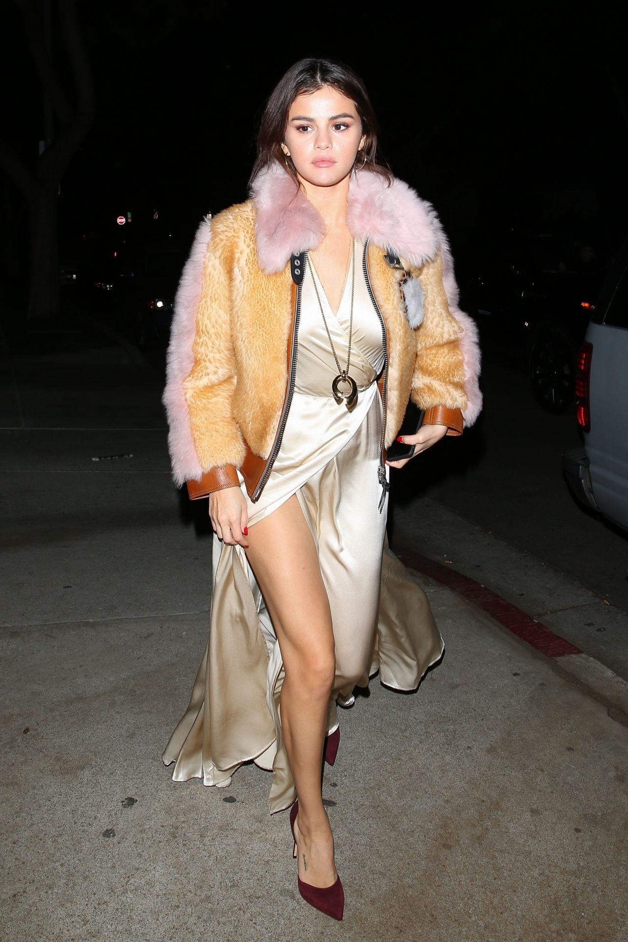 Selena Gomez Night Out Fashion Los Angeles 02 02 2018