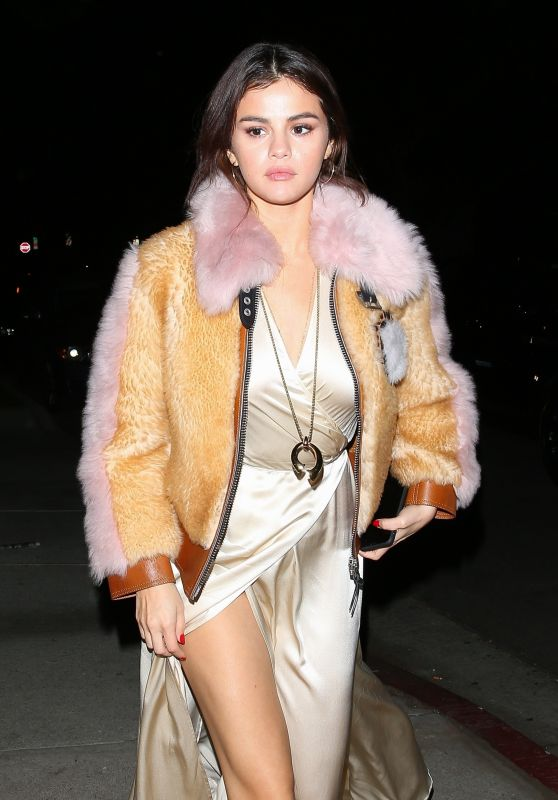 Selena Gomez Night Out Fashion - Los Angeles 02/02/2018