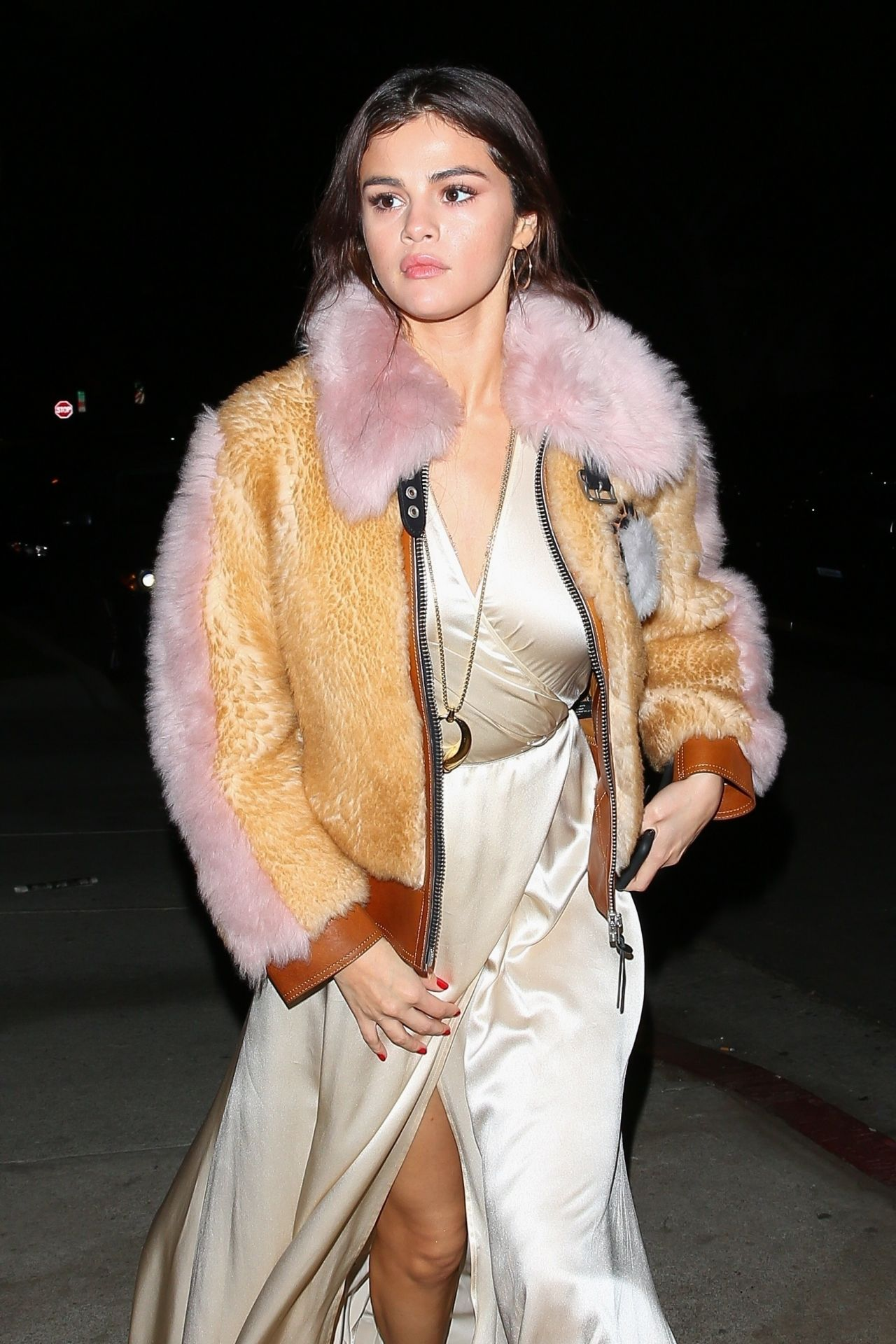 Selena Gomez Night Out Fashion Los Angeles 02 02 2018
