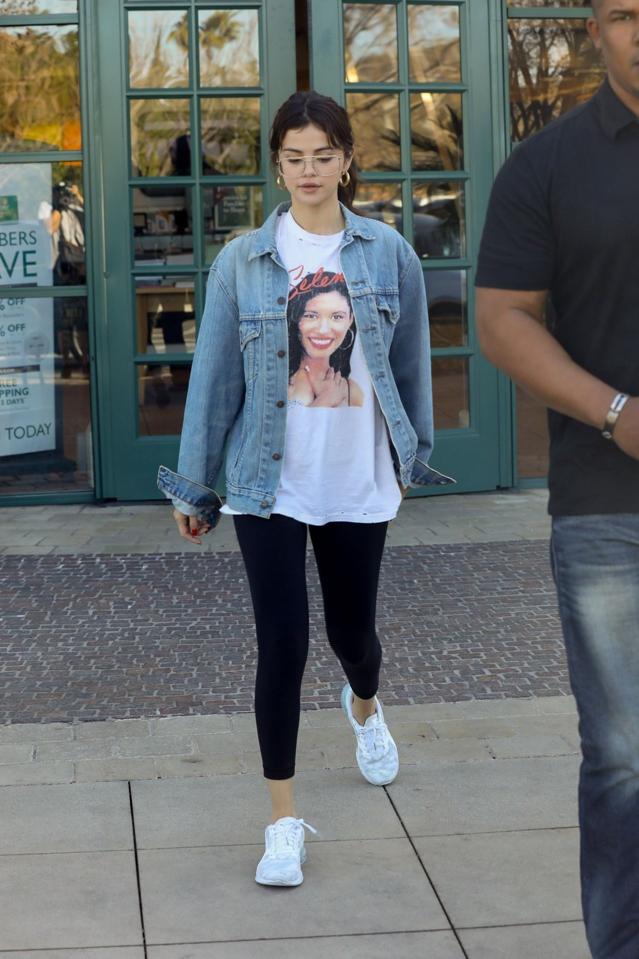 Selena Gomez Street Style Heads To A Business Meeting In La