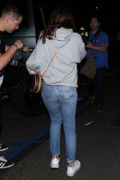 Selena Gomez Street Style - Kings Valley Ice Center in LA