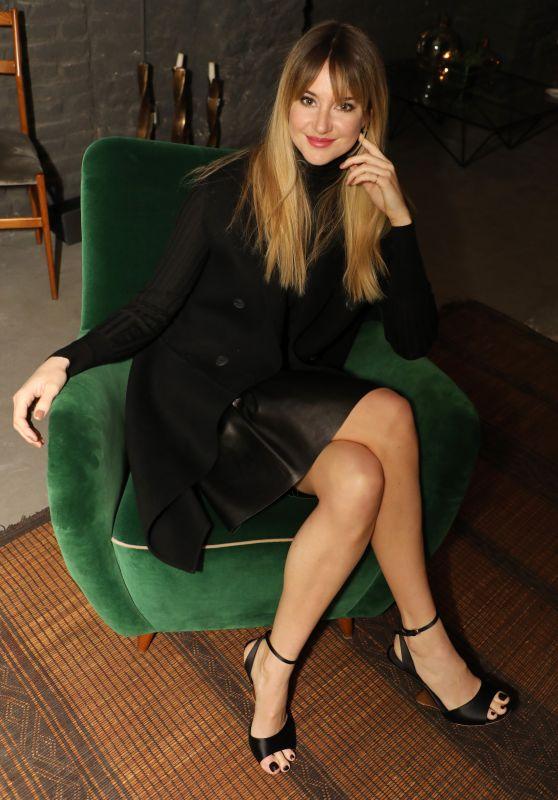 Shailene Woodley – Salvatore Ferragamo Intimate Dinner in Milan 02/24/2018
