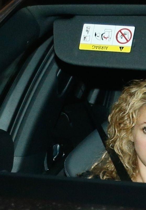 Shakira - Leaves Her Birthday in Barcelona