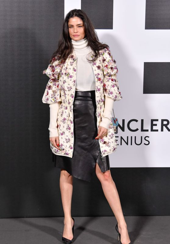 Shermine Shahrivar – Moncler Genius Project, Milan Fashion Week 02/20/2018