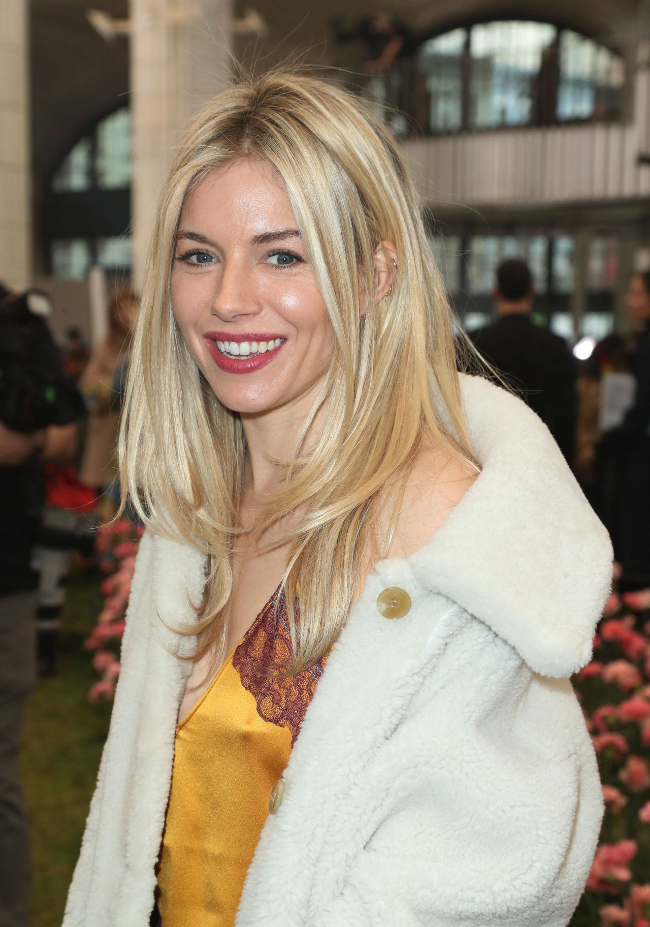 Sienna Miller Tory Burch Fashion Show Fall Winter 2018