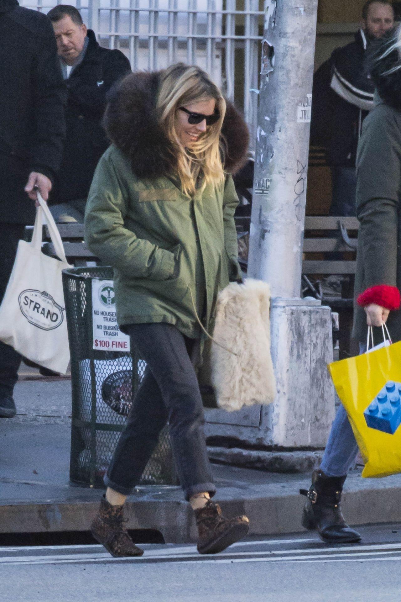 Sienna Miller Winter Street Style