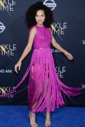 """Sofia Wylie – """"A Wrinkle in Time"""" Premiere in Los Angeles"""