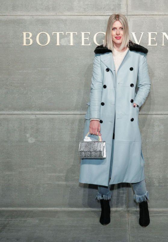 Sofie Valkiers – Bottega Veneta Show at NYFW 02/09/2018
