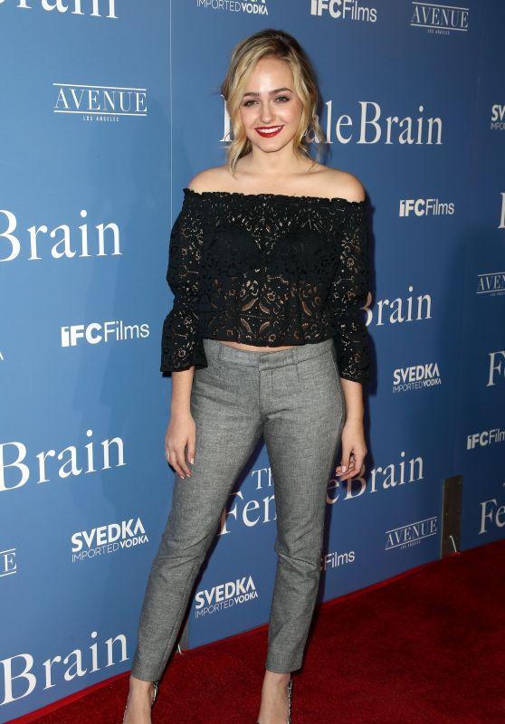 """Sophie Reynolds – """"The Female Brain"""" Premiere in Los Angeles"""