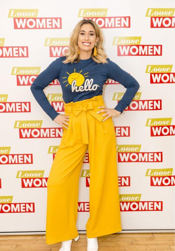 Stacey Solomon - Loose Women TV Show in London 02/01/2018