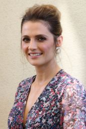 Stana Katic – Visits the HFPA Offices in Los Angeles
