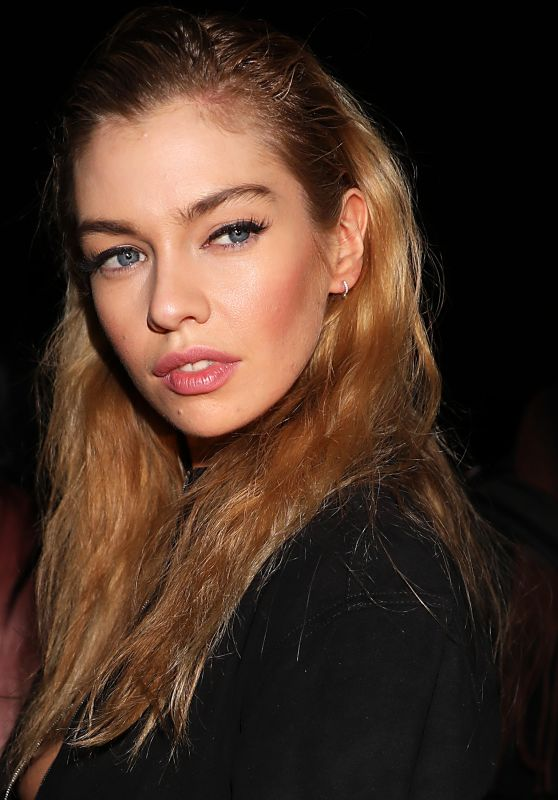 Stella Maxwell - Leaving the Moschino Show in Milan