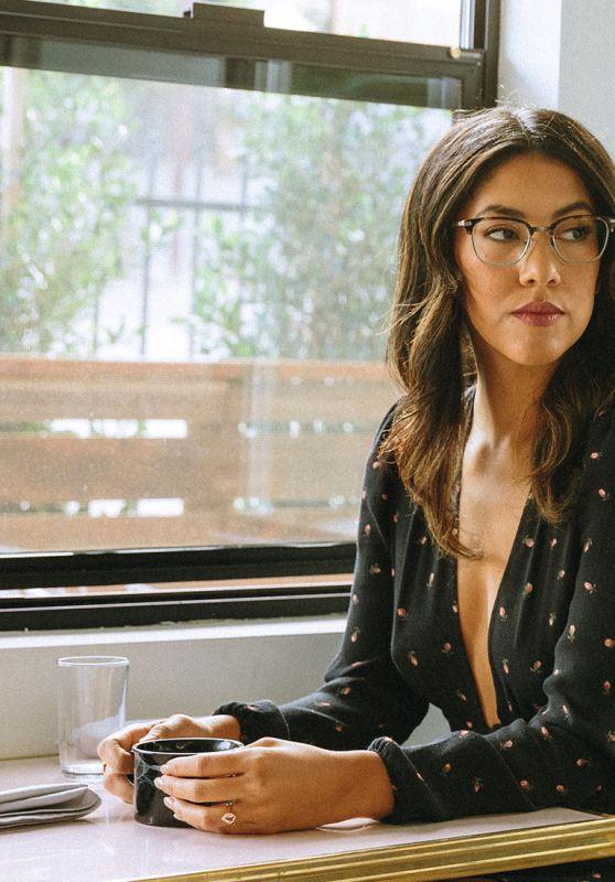 Stephanie Beatriz - Photoshoot for David Kind Eyewear, February 2018