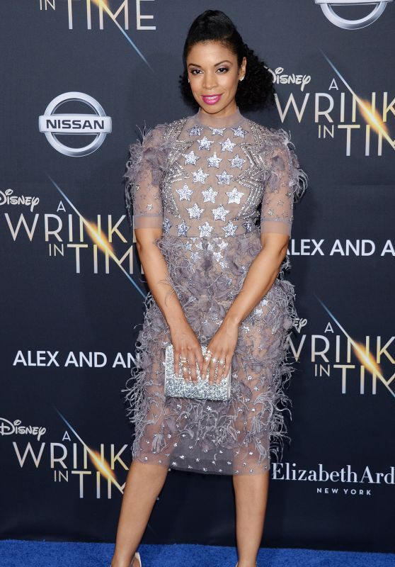 "Susan Kelechi Watson – ""A Wrinkle in Time"" Premiere in Los Angeles"