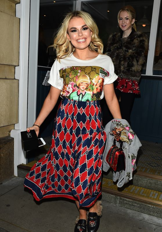 Tallia Storm at By Chloe Restaurant Launch Party in London
