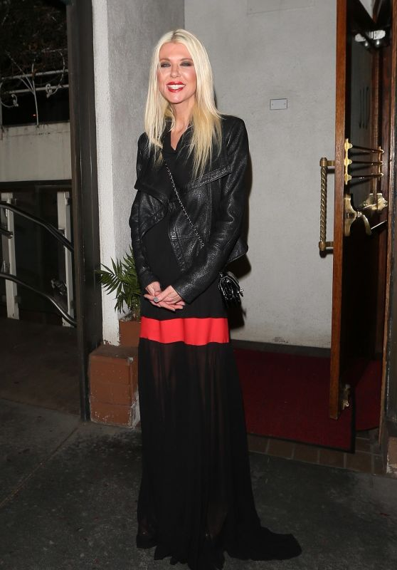 Tara Reid at Madeo in West Hollywood 02/14/2018