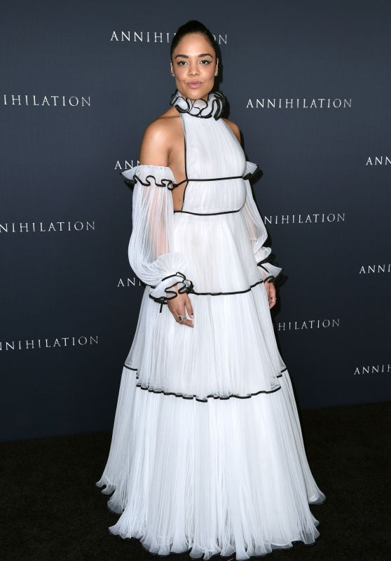 "Tessa Thompson – ""Annihilation"" Premiere in Los Angeles"