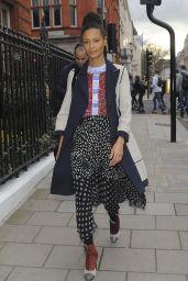 Thandie Newton Style - Claridges Hotel Mayfair, London