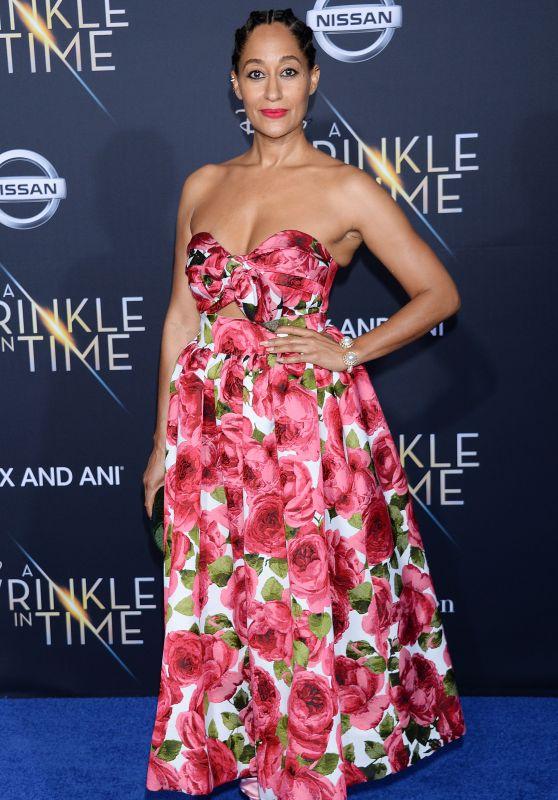 "Tracee Ellis Ross – ""A Wrinkle in Time"" Premiere in Los Angeles"