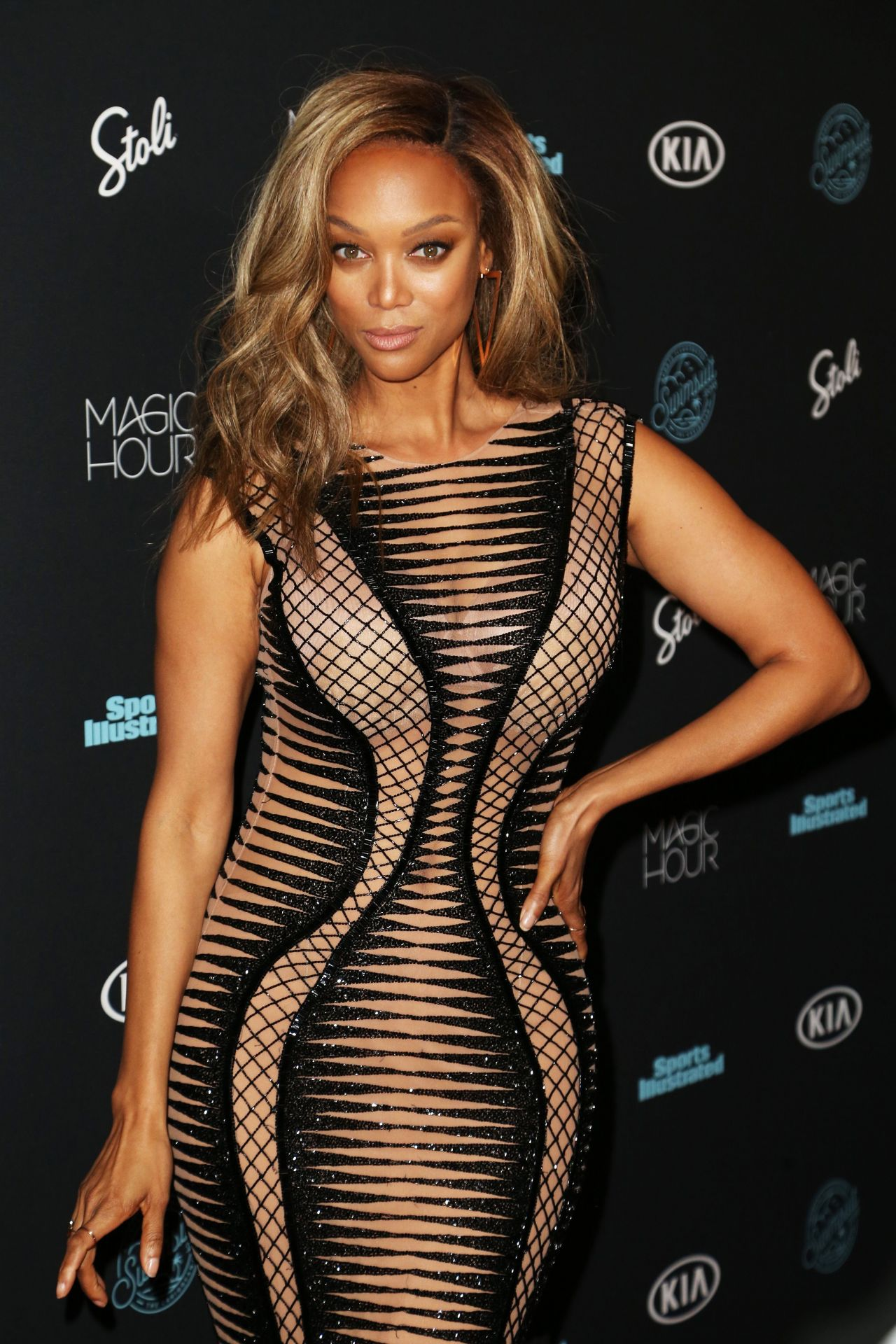 Tyra Banks 2018 Sports Illustrated Swimsuit Issue Launch