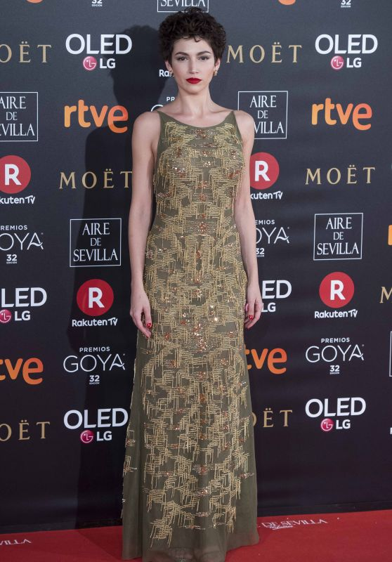 Ursula Corbero – 2018 Goya Awards in Madrid