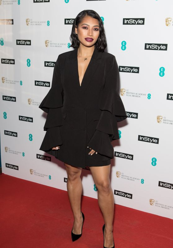 Vanessa White - 2018 BAFTAs Pre Party in London