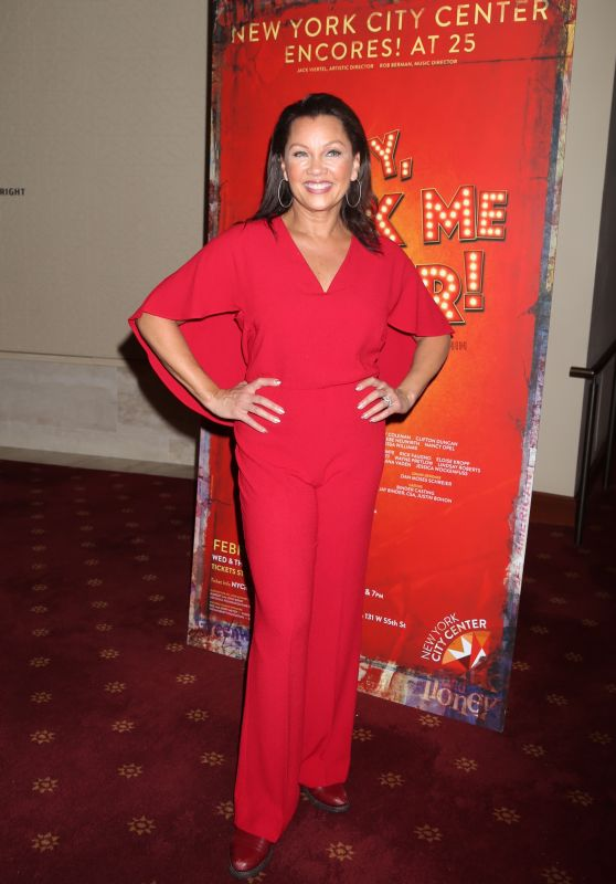 Vanessa Williams - Encores Hey, Look Me Over! Closing Night Party in NY