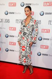 Verona Pooth – BUNTE & BMW Host Festival Night, Berlinale 2018