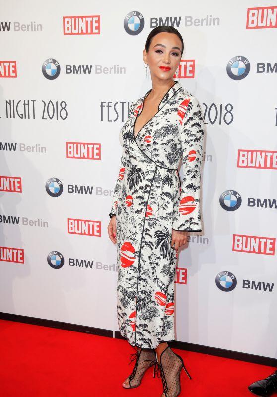 Verona Pooth – BUNTE & BMW Host Festival Night, Berlinale 2018