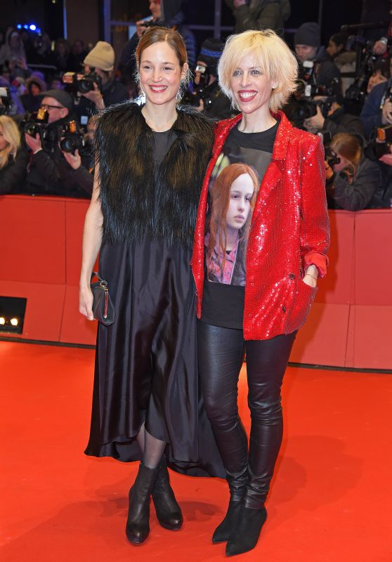 Vicky Krieps and Katja Eichinger – 2018 Berlin International Film Festival Opening Ceremony