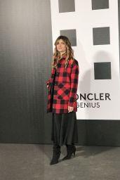 Vittoria Puccini – Moncler Genius Project, Milan Fashion Week 02/20/2018