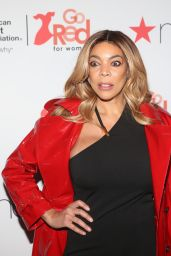 Wendy Williams – NYFW Red Dress Collection 2018