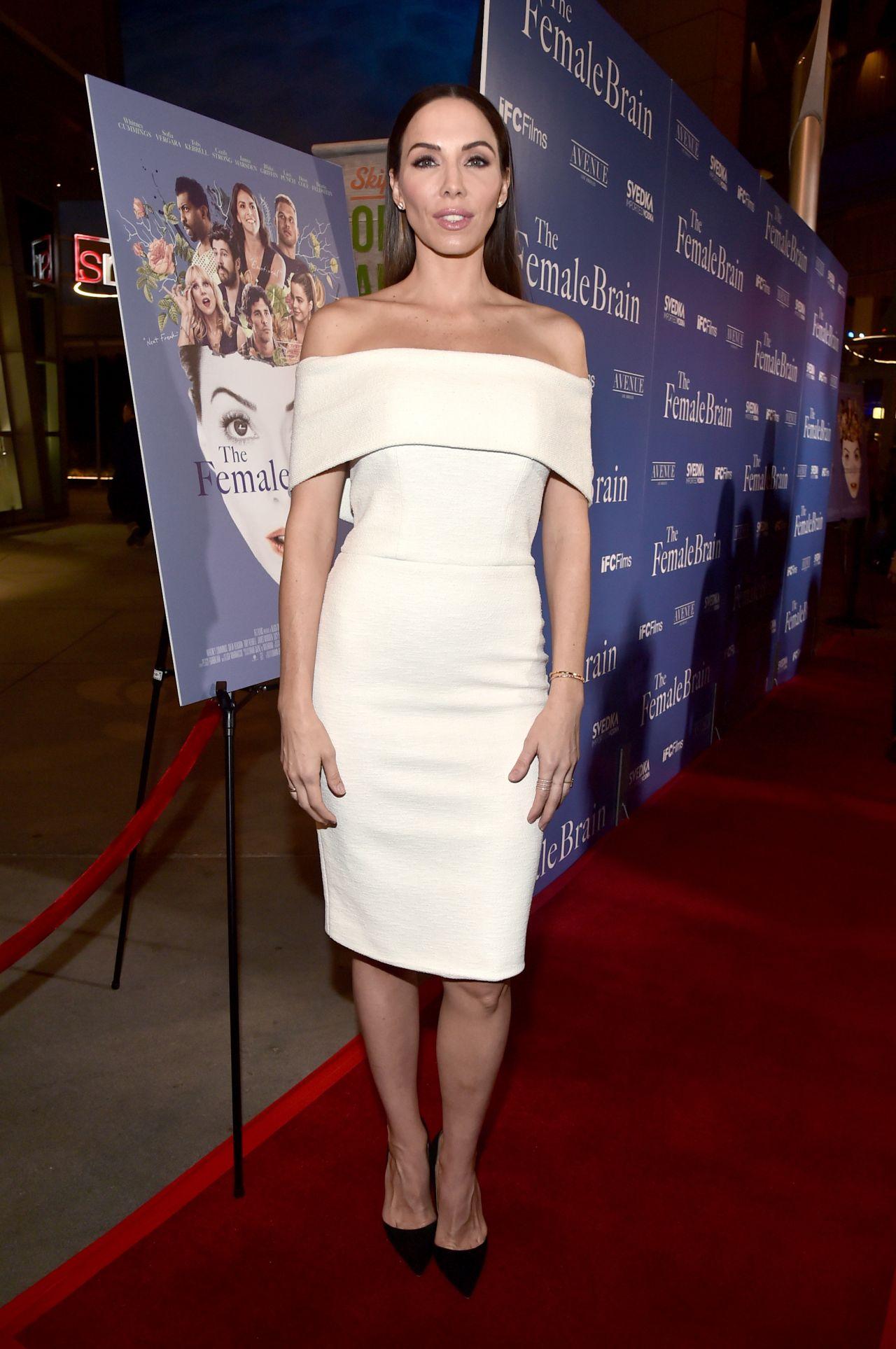 "Whitney Cummings - ""The Female Brain"" Premiere in Los Angeles • CelebMafia"