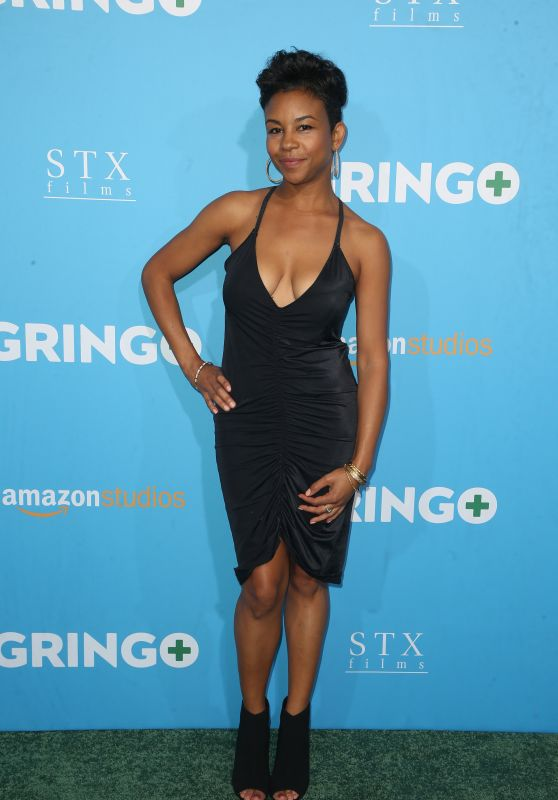"Aasha Davis – ""Gringo"" Premiere in Los Angeles"