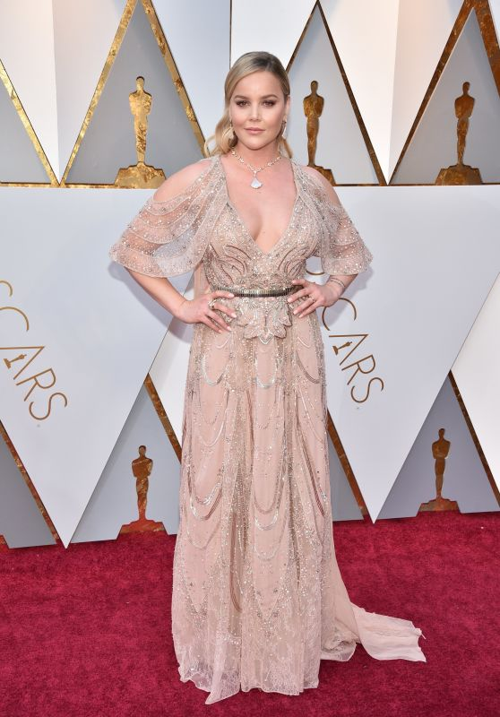 Abbie Cornish – Oscars 2018 Red Carpet