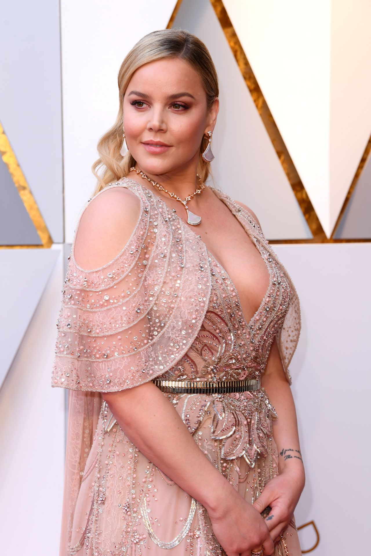 Abbie Cornish Oscars 2018 Red Carpet