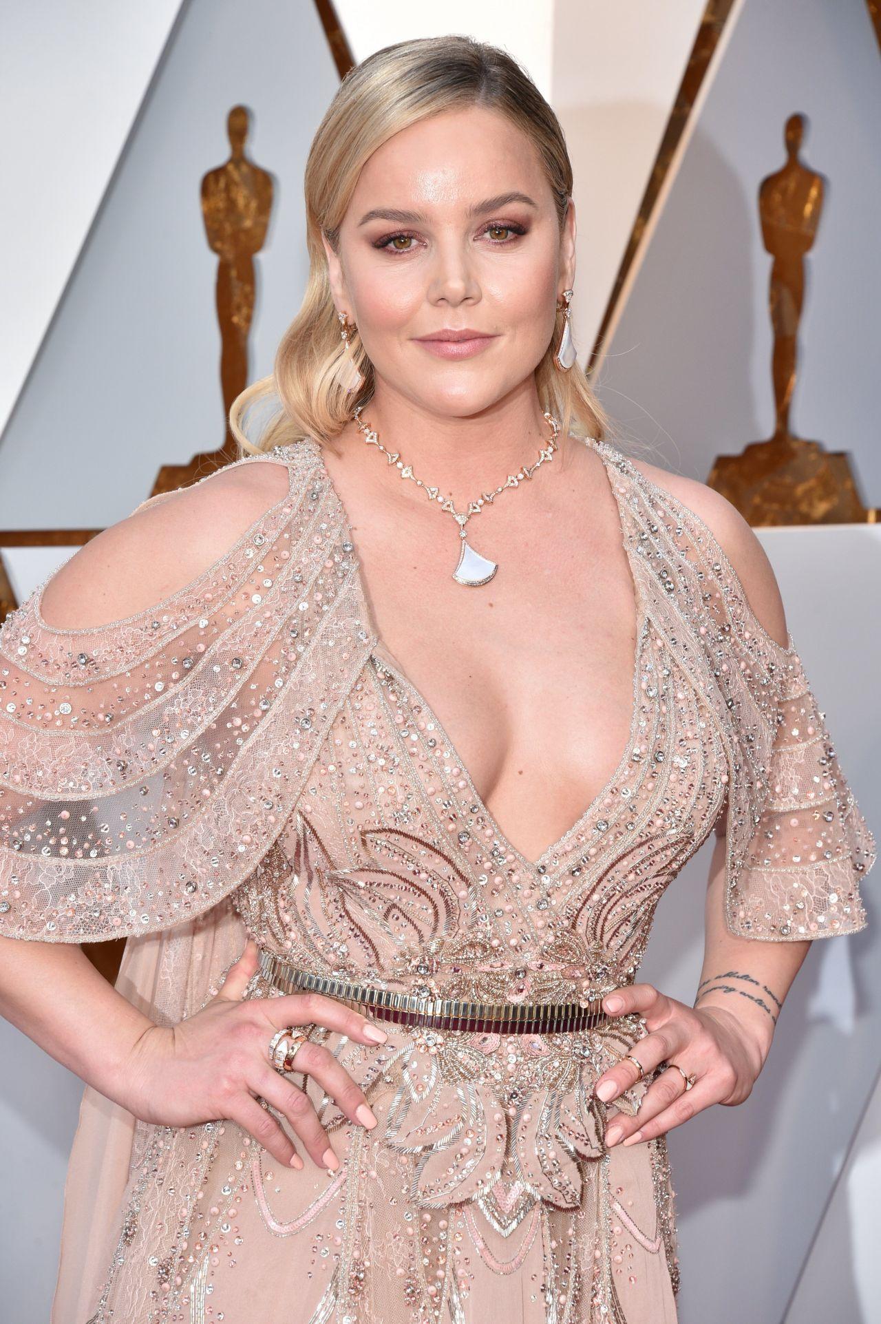 Abbie Cornish Oscars 2018 Red Carpet
