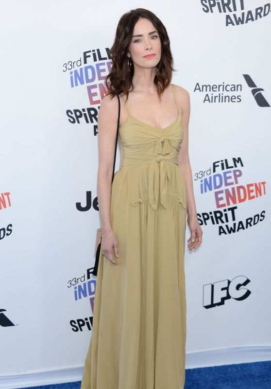 Abigail Spencer – 2018 Film Independent Spirit Awards in Santa Monica