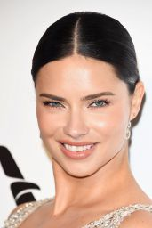 Adriana Lima – Elton John AIDS Foundation's Oscar 2018 Viewing Party in West Hollywood
